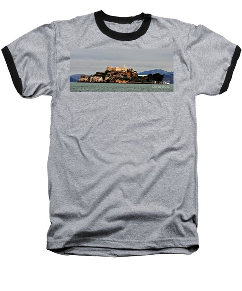 Alcatraz Island - The Rock Baseball T-Shirt