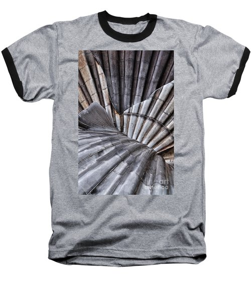 Aldeburgh Shell Abstract Baseball T-Shirt