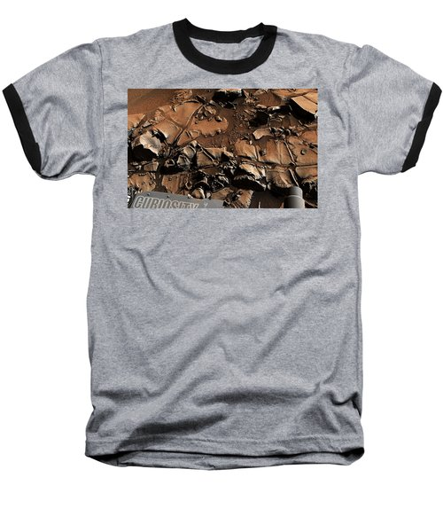Alexander Hills Bedrock In Mars Baseball T-Shirt