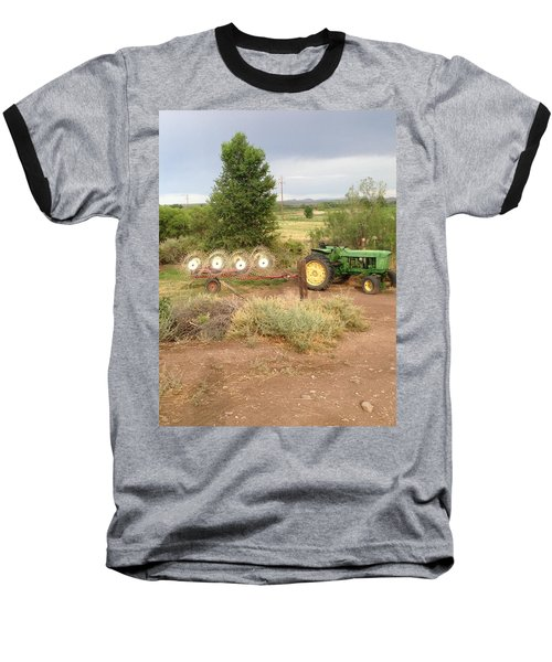 Baseball T-Shirt featuring the photograph Alfalfa Time by Erika Chamberlin