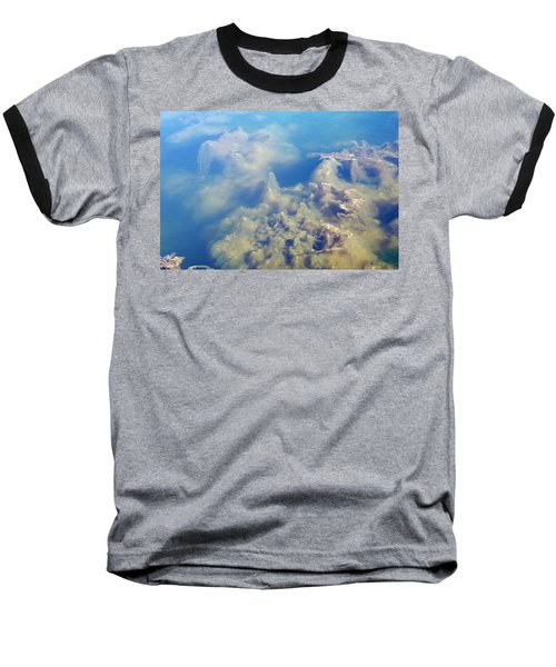 Algae Stalagmites Baseball T-Shirt by Greg Graham