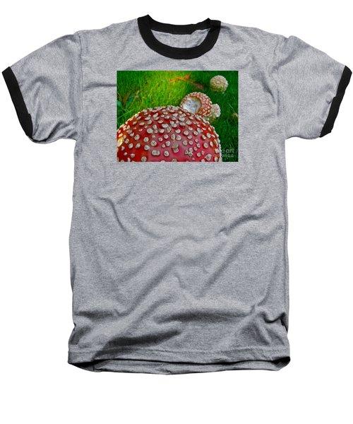 Alice's Shrooms Baseball T-Shirt