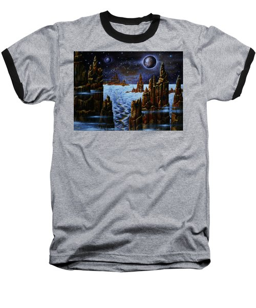 Ice Planet  Baseball T-Shirt