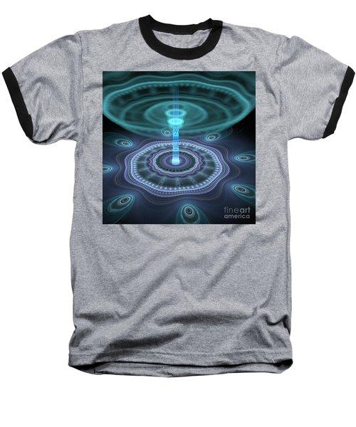 Alien Station Baseball T-Shirt