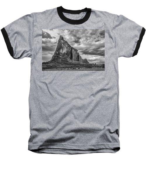 All Aboard Bw Baseball T-Shirt