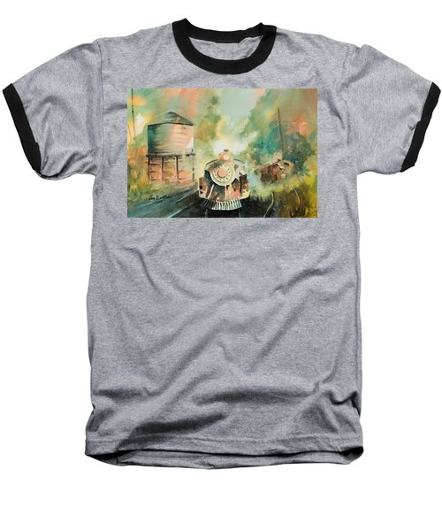 All Aboard Baseball T-Shirt by Lee Beuther