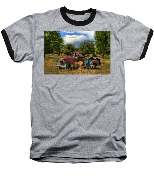 All By Myself Baseball T-Shirt by Ken Smith