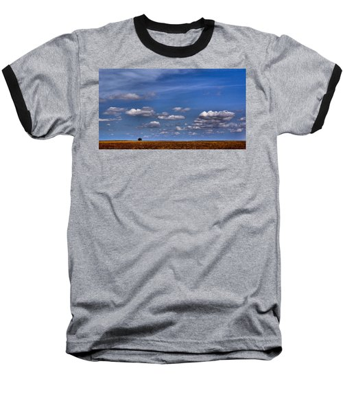All By Myself Baseball T-Shirt by Steven Reed