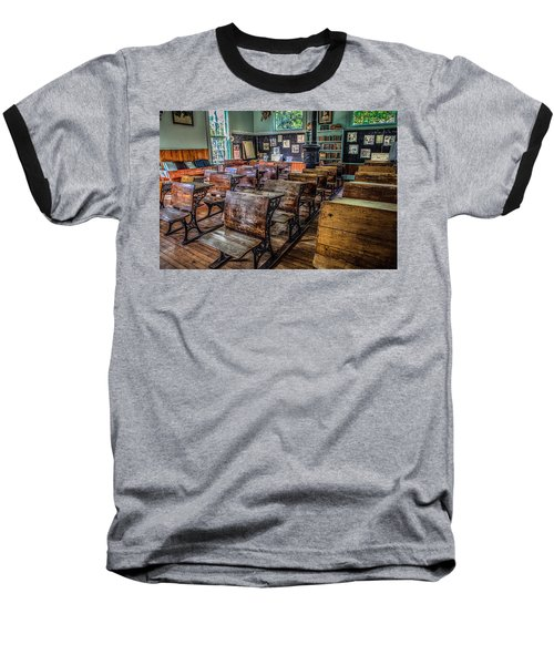 Baseball T-Shirt featuring the photograph All Grades by Ray Congrove