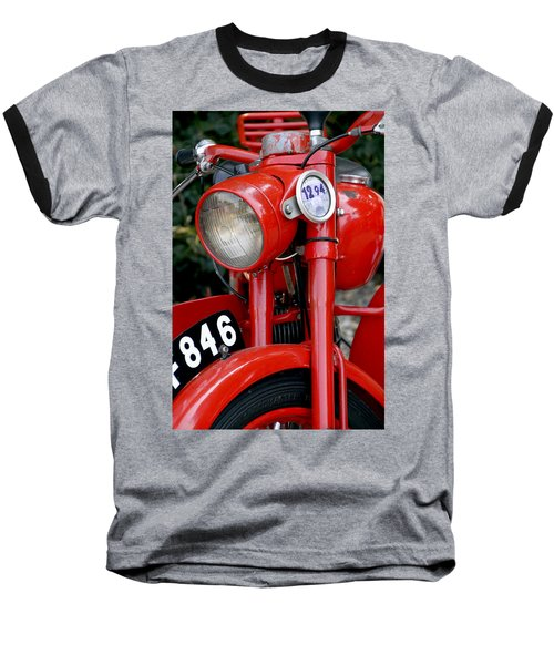 All Original English Motorcycle Baseball T-Shirt