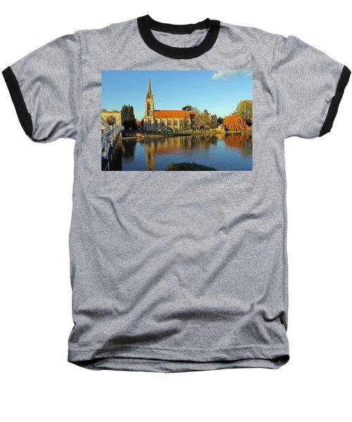All Saints Church Marlow Baseball T-Shirt