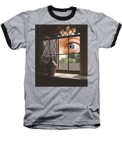 All Seeing Baseball T-Shirt