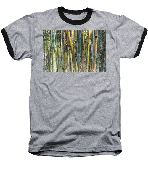 All The Colors Of The Bamboo Rainbow Baseball T-Shirt