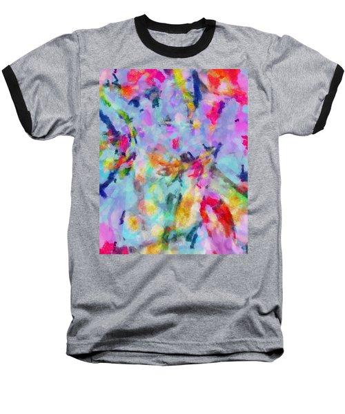 Baseball T-Shirt featuring the painting All Those Good Things by Joe Misrasi