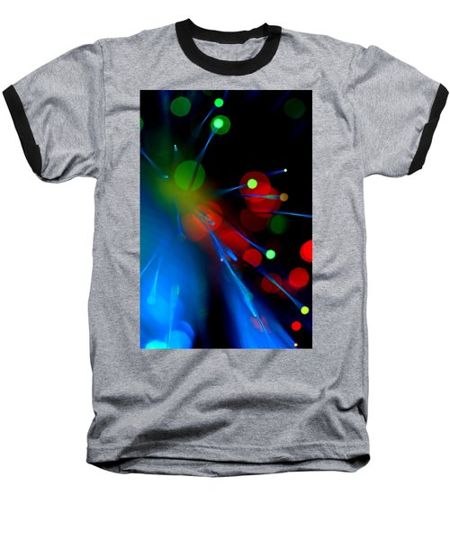 Baseball T-Shirt featuring the photograph All Through The Night by Dazzle Zazz