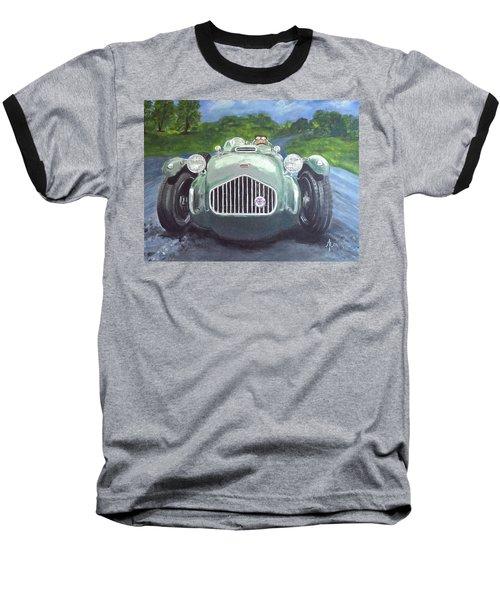 Baseball T-Shirt featuring the painting Allard J2x by Anna Ruzsan
