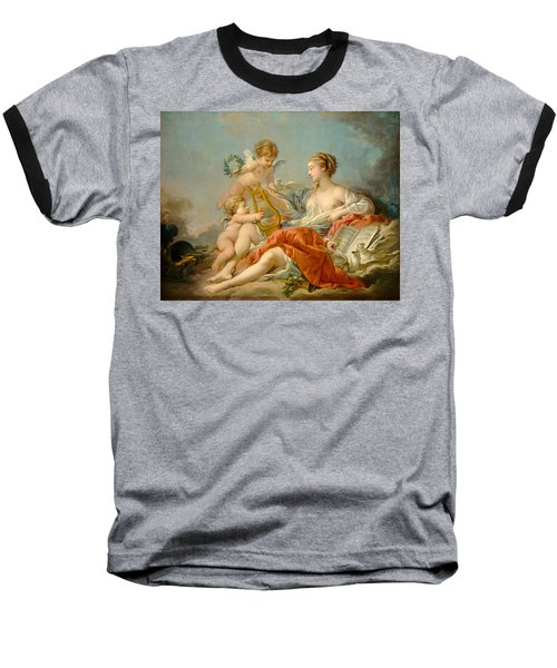 Allegory Of Music Baseball T-Shirt by Francois Boucher