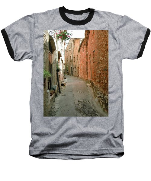 Alley In Tourrette-sur-loup Baseball T-Shirt