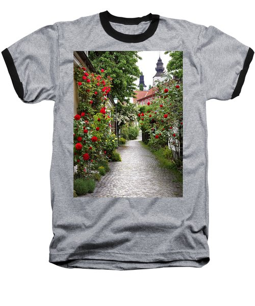 Alley Of Roses Baseball T-Shirt