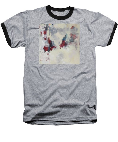 Baseball T-Shirt featuring the painting Alliteration C2012 by Paul Ashby