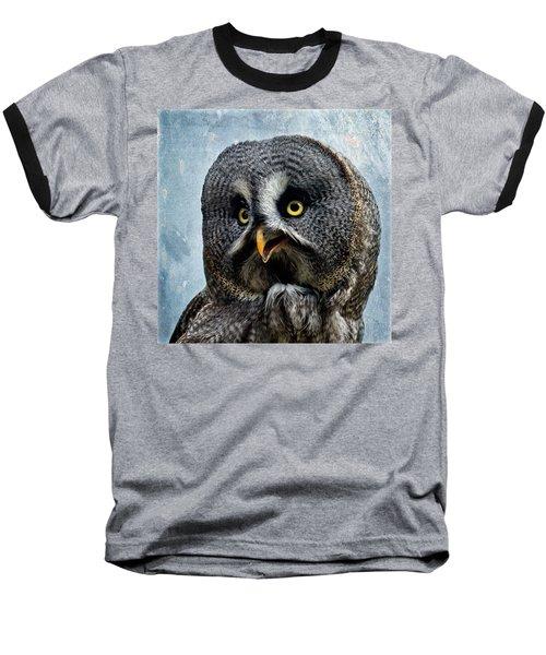 Allocco Della Lapponia - Tawny Owl Of Lapland Baseball T-Shirt