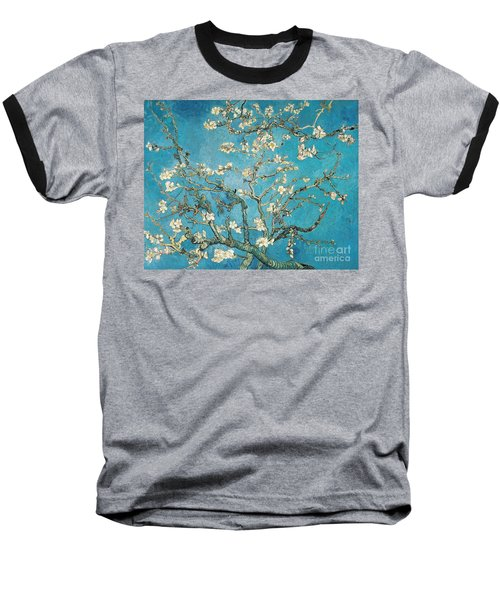 Almond Branches In Bloom Baseball T-Shirt