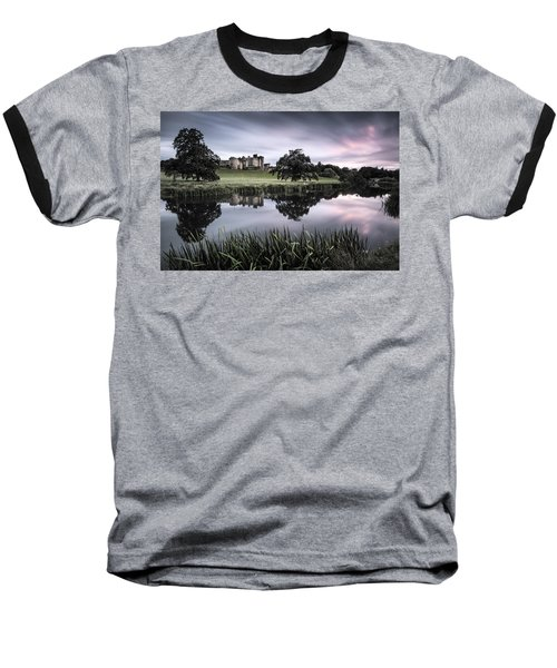 Alnwick Castle Sunset Baseball T-Shirt