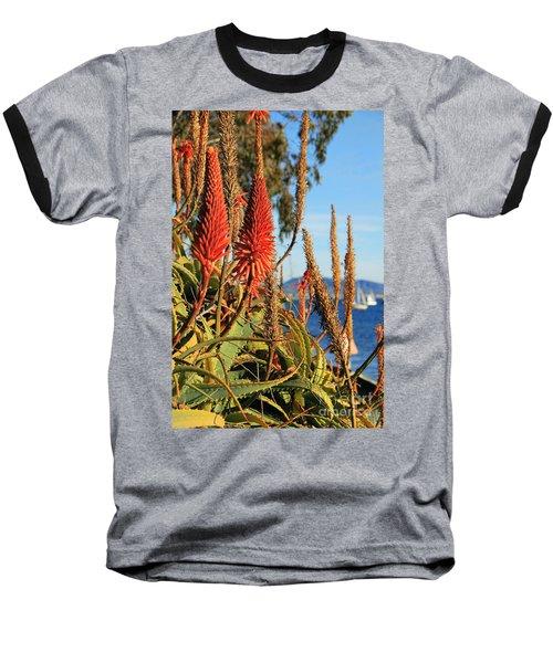Aloe Vera Bloom Baseball T-Shirt