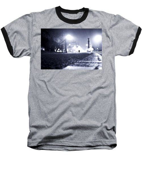 Alone Brooklyn Nyc Usa Baseball T-Shirt