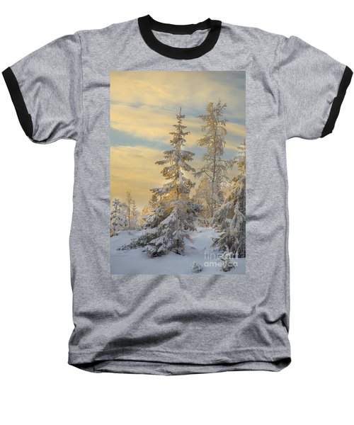 Baseball T-Shirt featuring the photograph Alone But Strong by Rose-Maries Pictures