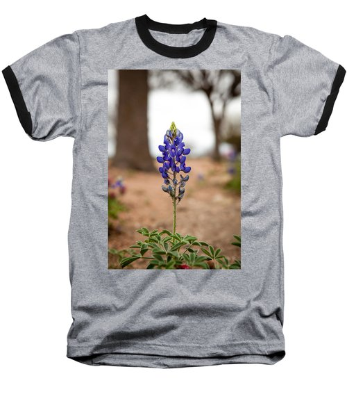 Alone In The Woods Baseball T-Shirt