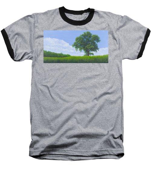 Alone Summer Baseball T-Shirt by Garry McMichael