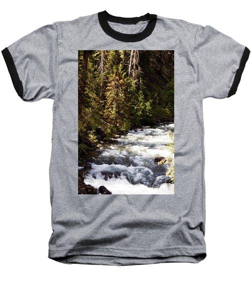 Along American River Baseball T-Shirt