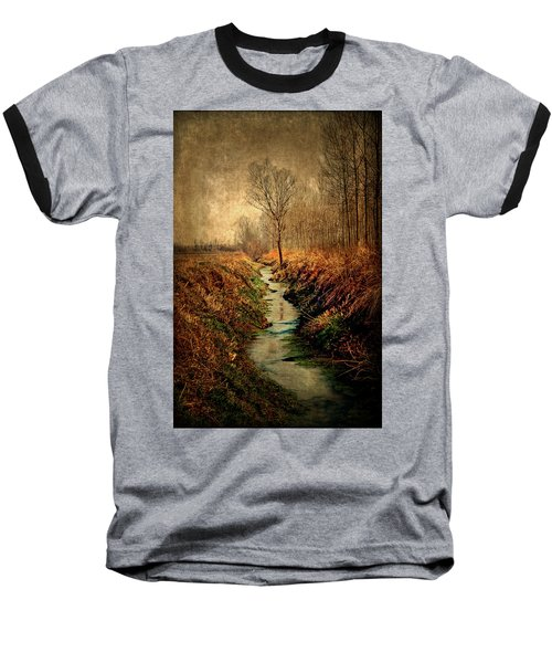 Along The Canal Baseball T-Shirt