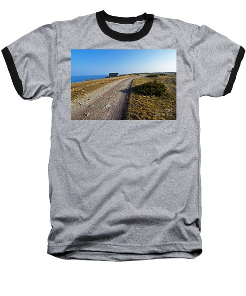 Along The Coast Of Baltic Sea Baseball T-Shirt