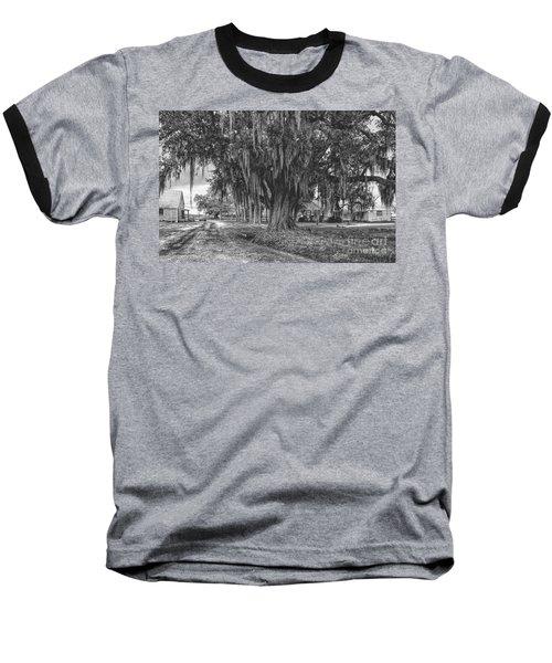 Along The River Road Near Vacherie La Baseball T-Shirt