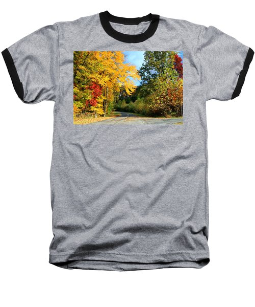 Baseball T-Shirt featuring the photograph Along The Road 2 by Kathryn Meyer