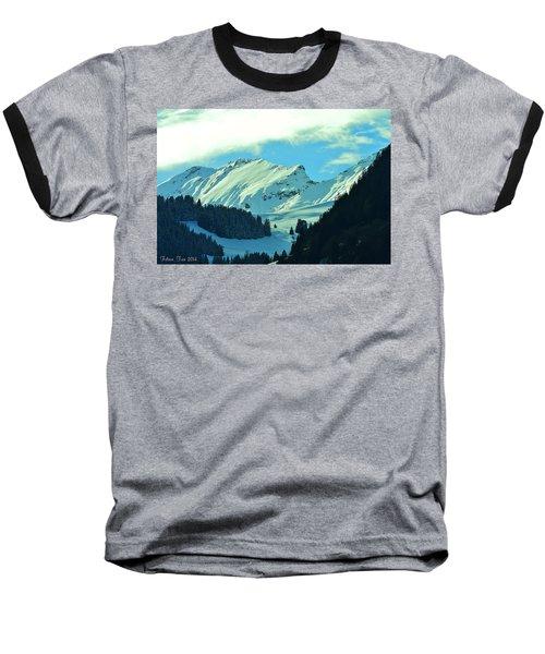 Alps Green Profile Baseball T-Shirt