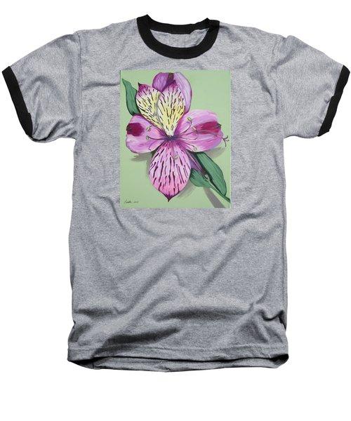 Alstroemeria No.1 Baseball T-Shirt