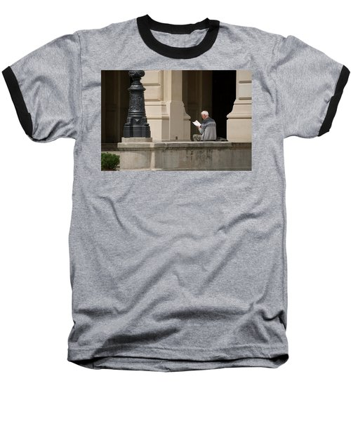 Alte Oper Baseball T-Shirt by Steven Richman