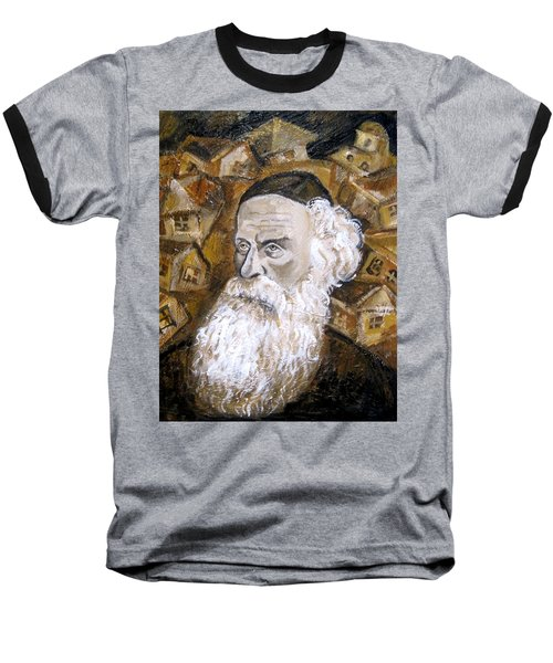 Alter Rebbe Baseball T-Shirt