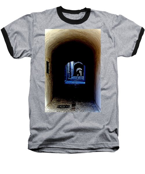 Altered Arch Walkway Baseball T-Shirt