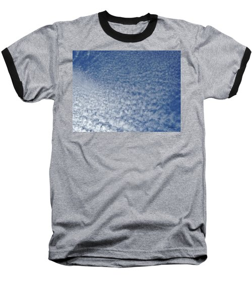 Baseball T-Shirt featuring the photograph Altocumulus Clouds by Jason Williamson