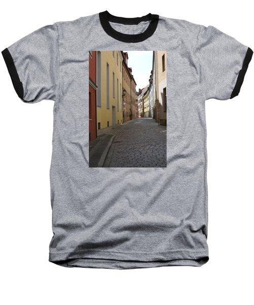 Altstadt Nuernberg Baseball T-Shirt by Heidi Poulin