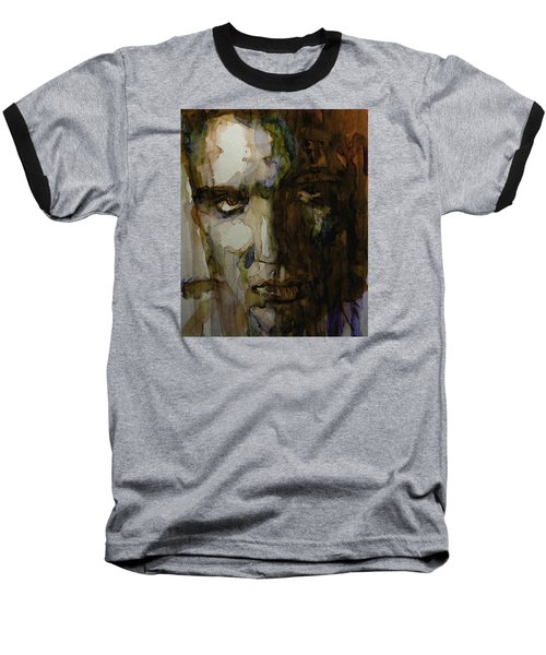 Always On My Mind Baseball T-Shirt by Paul Lovering