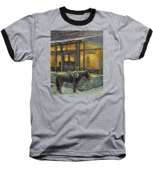 Always Open Baseball T-Shirt by Donna Tucker
