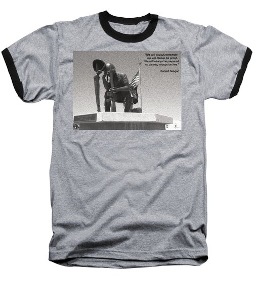 Baseball T-Shirt featuring the photograph Always Remember by Glenn McCarthy Art and Photography