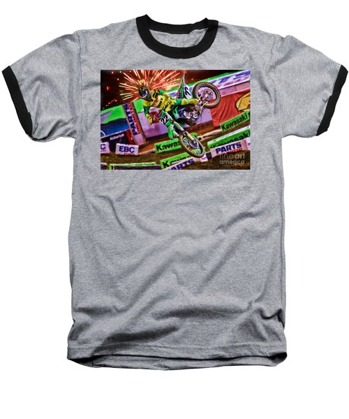 Ama 450sx Supercross Chad Reed Baseball T-Shirt