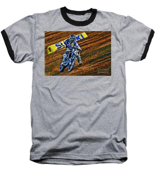 Ama 450sx Supercross Jason Anderson Baseball T-Shirt
