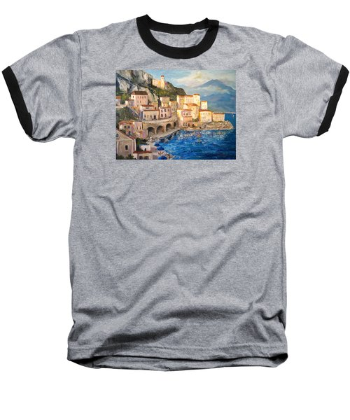 Amalfi Coast Highway Baseball T-Shirt